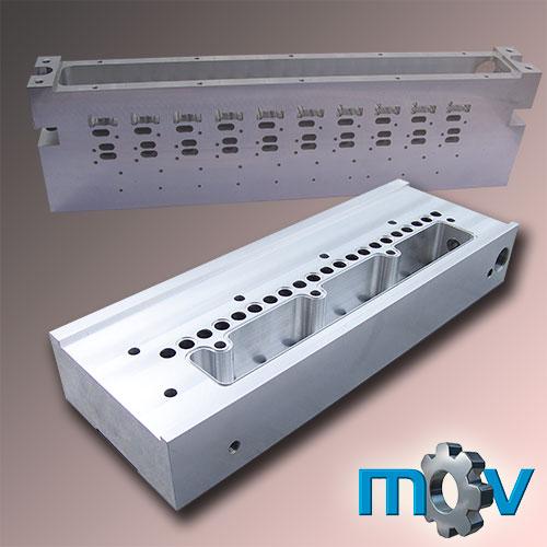 Bloque distribuidor para instalaciones neumáticas